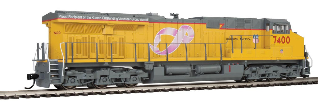 Walthers HO ES44 Gevo Union Pacific(R) #7400 Breast Cancer Awareness-ESU LokSound equipped