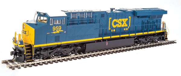 HO Walthers Mainline GE ES44AH DCC CSX #959 - ESU(R) Sound and DCC