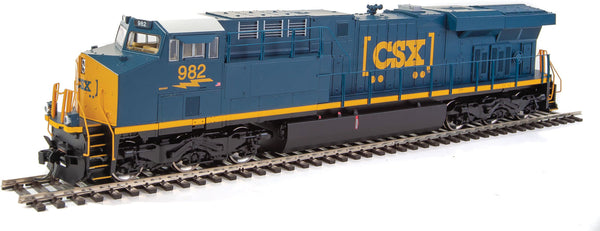 HO Walthers Mainline GE ES44AH DCC CSX #982 - ESU(R) Sound and DCC