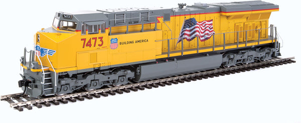 HO Walthers Mainline GE ES44AH DCC UP 7473 - ESU(R) Sound and DCC
