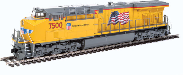 HO Walthers Mainline GE ES44AH DCC UP 7500 - ESU(R) Sound and DCC
