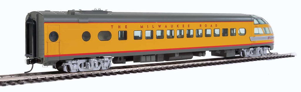 Walthers Proto 85' Milwaukee Road Skytop Lounge Rapids Series Twin Cities Hiawatha