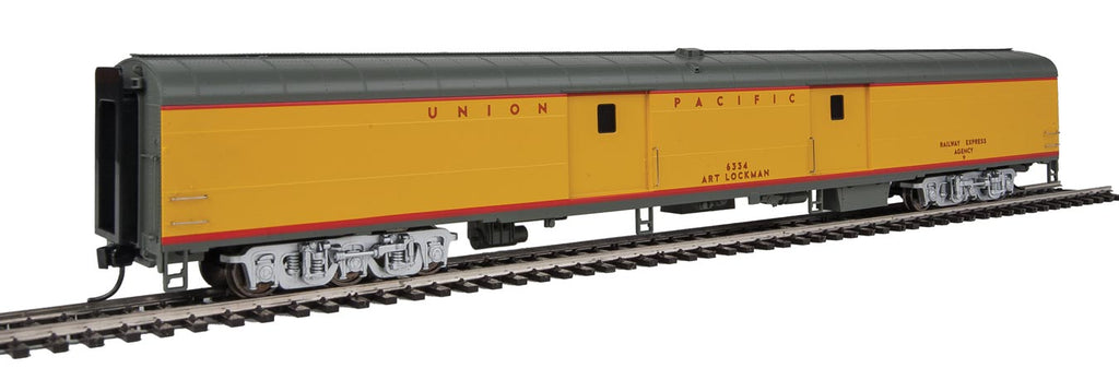 Walthers Proto 85' ACF UPP #6334 Art Lockman Baggage/Tool carUnion Pacific Heritage Fleet