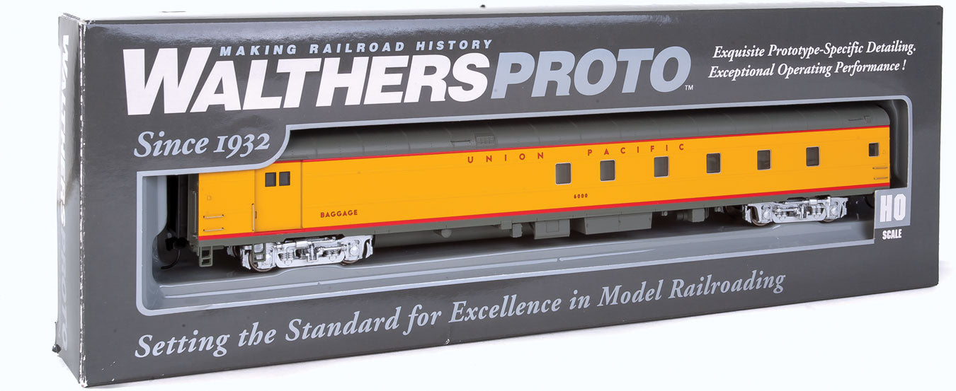 Walthers Proto 85' ACF Baggage-Dormitory Union Pacific #6000