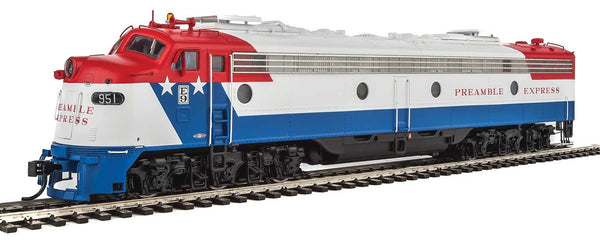 Walthers Proto HO EMD E9A UP #951 Preamble Express (Union Pacific) with LokSound 5