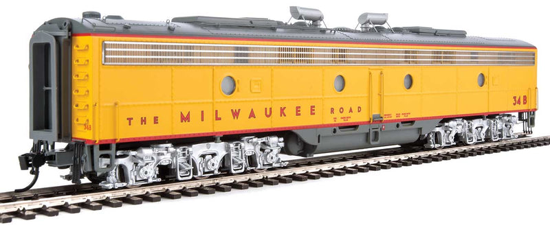 Walthers Proto HO EMD E9 A-B Set Milwaukee Road 34A, 34B DCC Ready