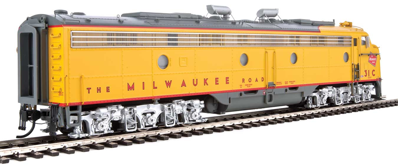 Walthers Proto HO EMD E9 A Milwaukee Road 31C DCC Ready
