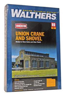 HO Walthers Cornerstone Union Crane and Shovel Walthers Cornerstone #4021