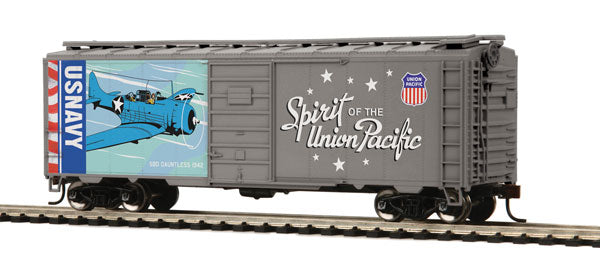 Spirit of the Union Pacific 6-Boxcar Set MTH HO PS-1 40'