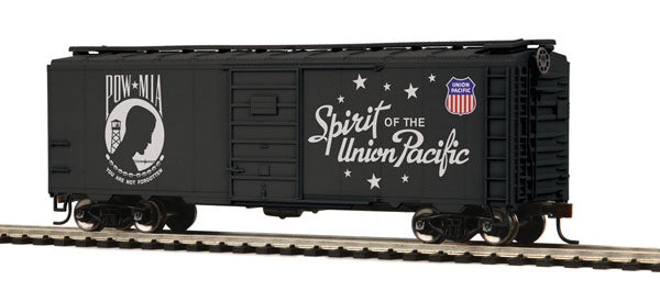 MTH HO Union Pacific 40' PS-1 Armed Forces Commemorative Box Car Set (6)