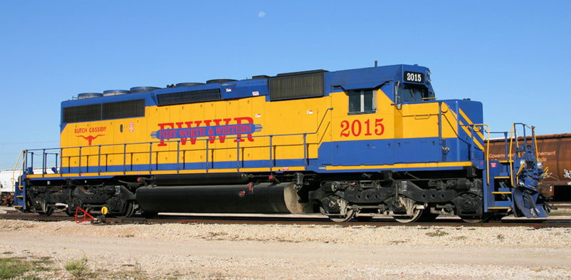 BLI EMD SD40-2 Fort Worth & Western FWWR Butch Cassidy #2015 Paragon3 DCC/Sound