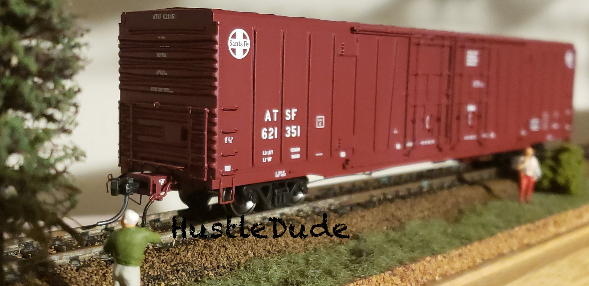 Atlas HO 20004936 BX-166 Box Car Santa Fe (24