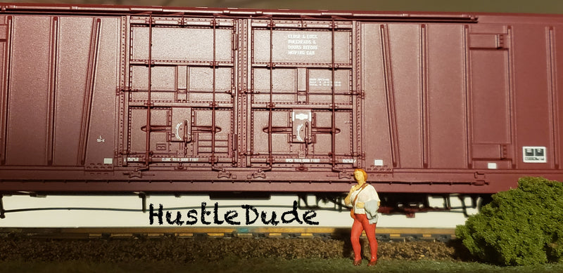"Atlas HO 20004934 BX-166 Box Car Santa Fe (24"" Logo"
