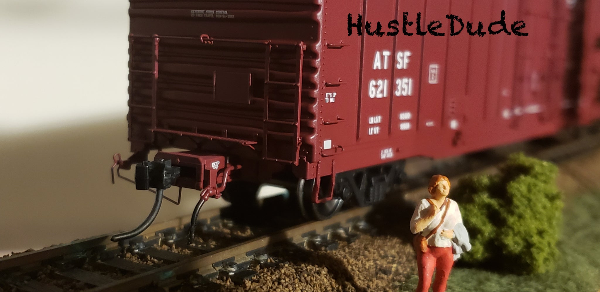 Atlas HO 20004948 BX-166 Box Car Santa Fe Plain (No Logo) 621438