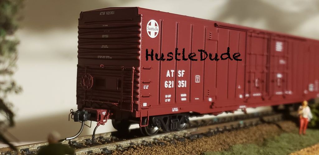 "Atlas HO 20004944 BX-166 Box Car Santa Fe (24"" Logo #4) 621307"