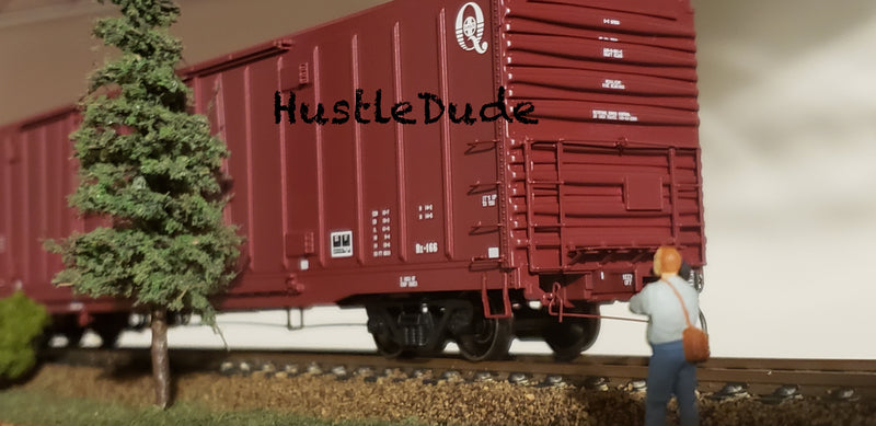 "Atlas HO 20004944 BX-166 Box Car Santa Fe (24"" Logo"