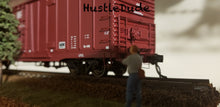 Load image into Gallery viewer, Atlas HO 20004949 BX-166 Box Car Santa Fe Plain (No Logo) 621588