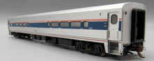 Load image into Gallery viewer, Rapido HO Horizon Fleet Club-Dinette Amtrak 58108 (Phase VI, silver, blue, red, Travelscape Logo)