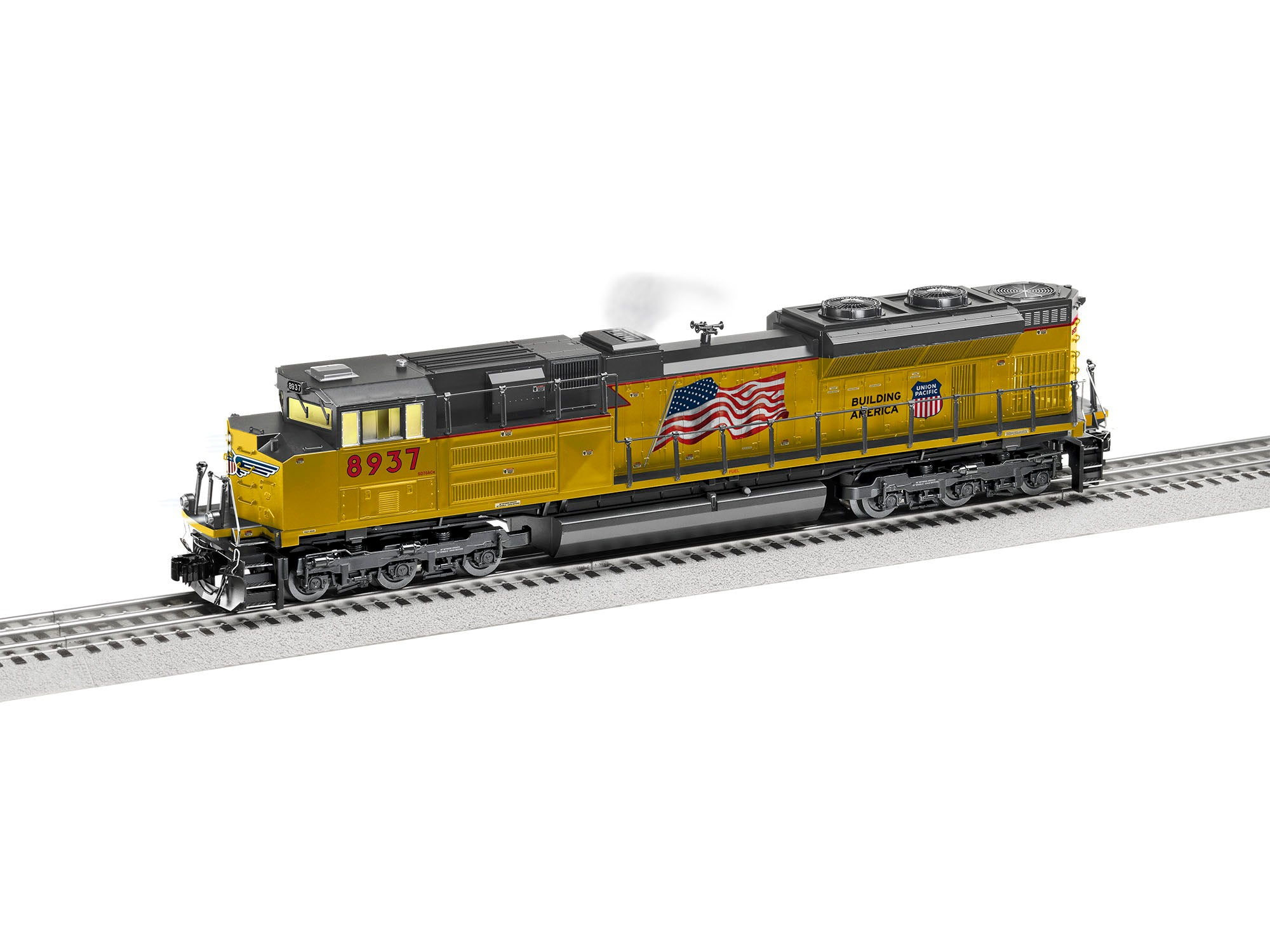 Lionel O UNION PACIFIC LEGACY SD70ACE #8937
