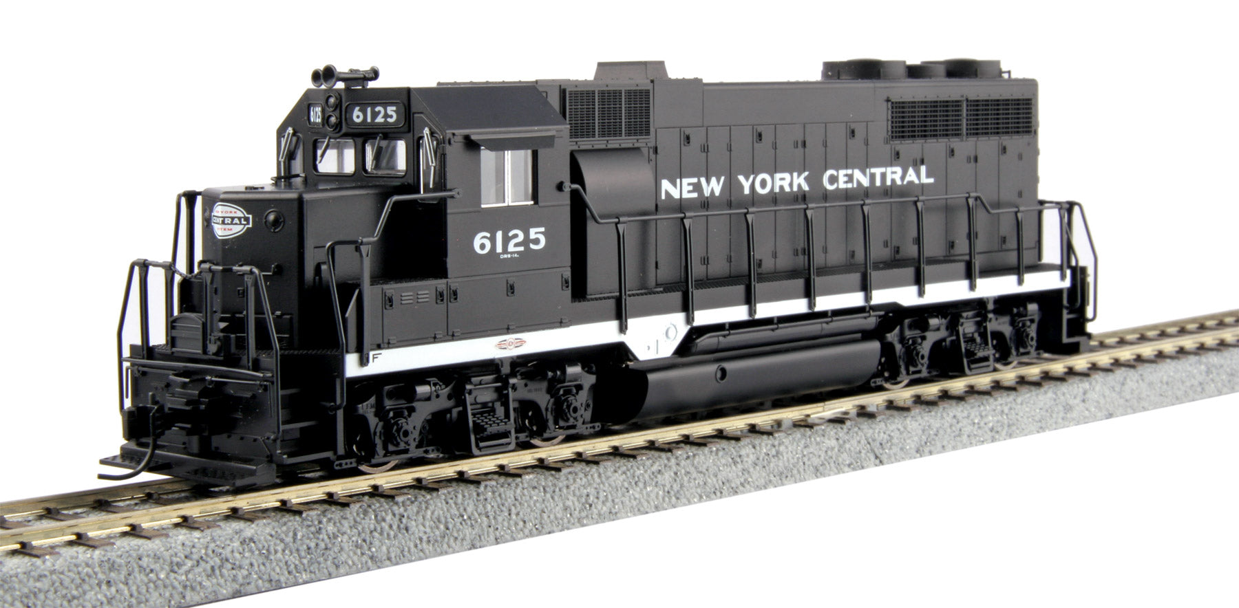 Kato HO HO EMD GP35 Phase Ia New York Central NYC #6125 DCC Ready