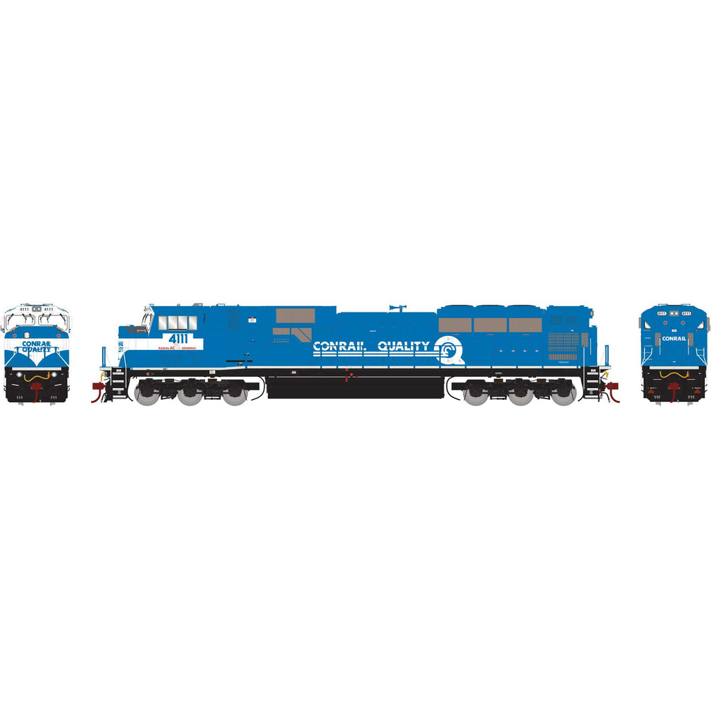 Athearn Genesis HO SD80MAC w/DCC & Sound, CR #4111