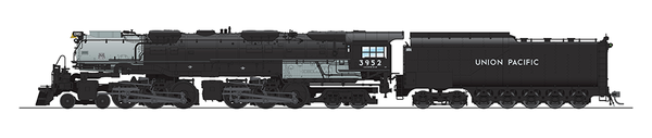 Broadway Limited UP Challenger 4-6-6-4, #3952 Black & Graphite Coal Tender Paragon3 Sound/DC/DCC