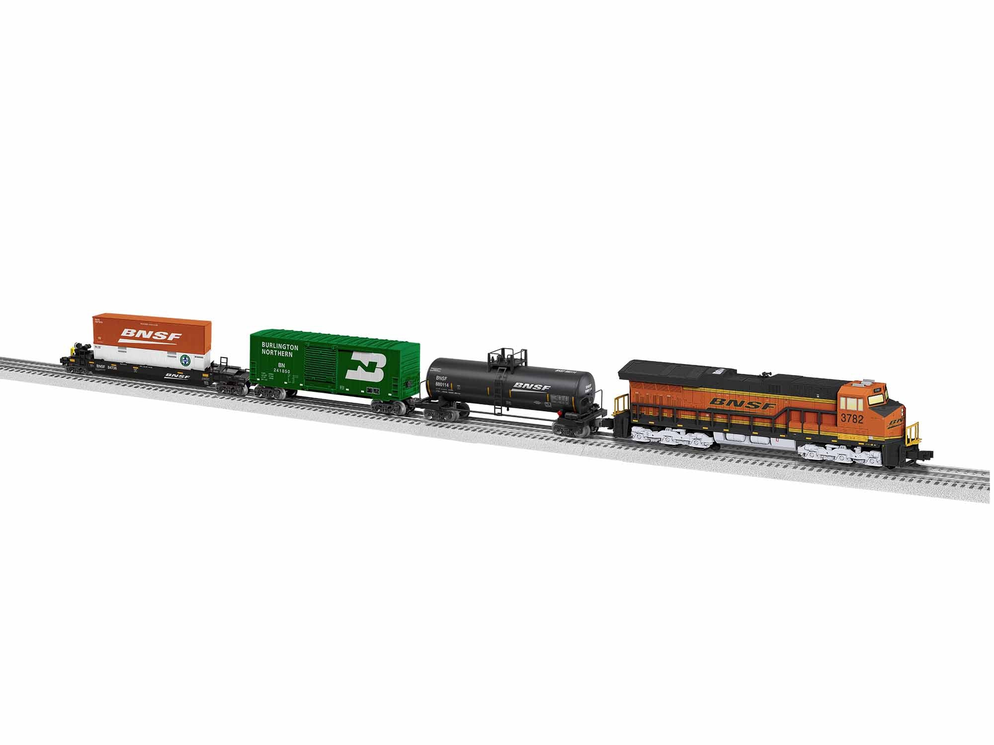 Lionel BNSF Tier 4 Set with Bluetooth