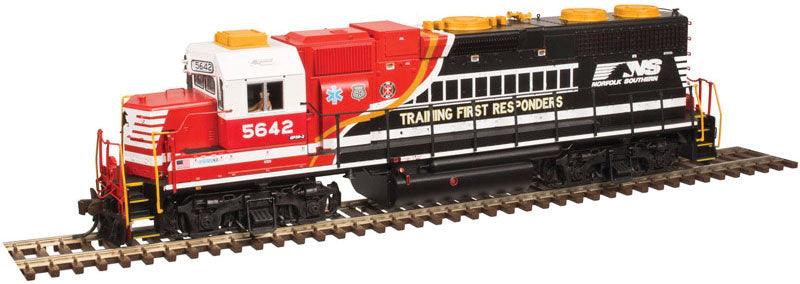 Atlas Low Nose GP38 Norfolk Southern #5642 First Responders - DCC Ready