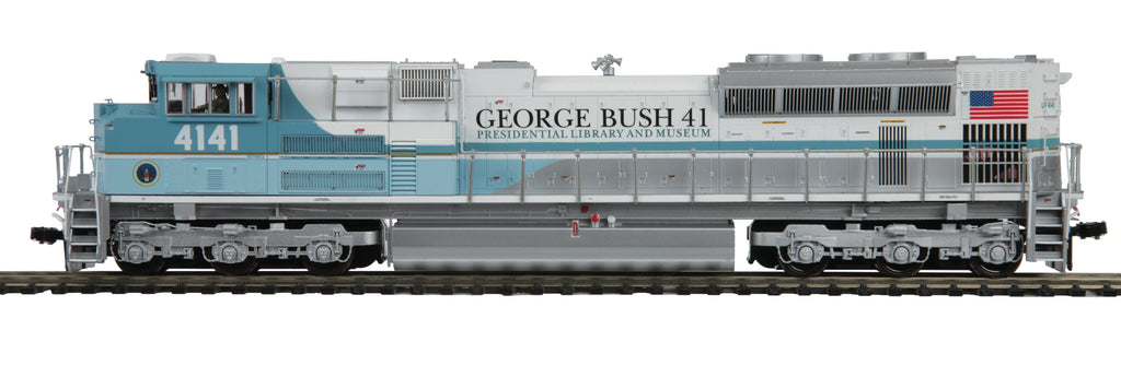 MTH HO Scale SD70ACe George Bush #4141 (DCC Ready) 80-2396-0