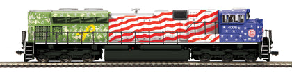 MTH HO SD70ACe KCS Kansas City Southern Veterans #4006 (DCC Ready) 80-2398-0