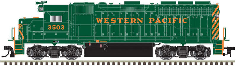 Atlas HO EMD GP40 Low Nose Western Pacific #3515 - DCC Ready