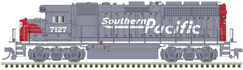 Atlas HO EMD GP38 Low Nose Southern Pacific #7127 - DCC Ready