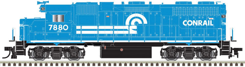 Atlas HO EMD GP38 Low Nose Conrail #7883 - LokSound DCC