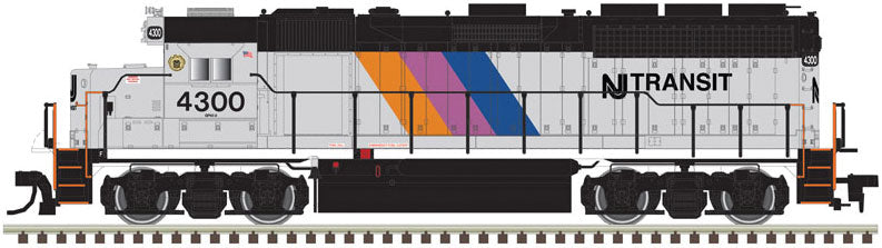 Atlas HO EMD GP38 Low Nose NJ Transit #4301 - DCC Ready