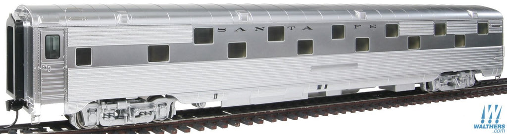 Walthers Proto HO 920-9323 Santa Fe San Francisco Chief 85' 24-Duplex Roomette Sleeper (Real Metal Finish)