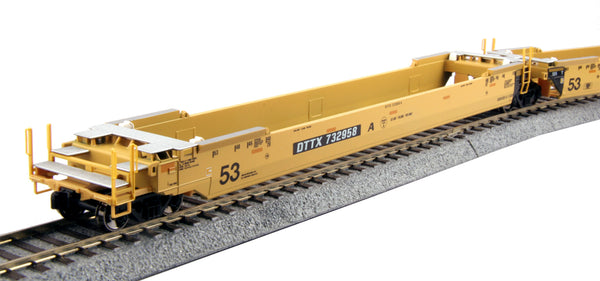 Kato HO Gunderson MAXI-IV 3-Unit Well Car Set - TTX Original Logo #724792