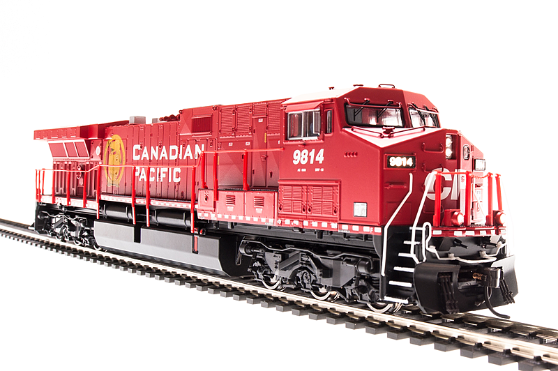 Broadway Limited, HO GE AC6000 w Paragon3 Sound & Smoke, CP #9821, Golden Beaver Scheme BLI-5683