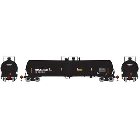 Athearn HO 28267 Black UTLX 30,000 30k Gallon Ethanol Tank Car