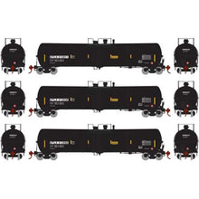 Load image into Gallery viewer, Athearn HO 28269 Black UTLX 30,000 30k Gallon Ethanol Tank Car Set #2 (3)
