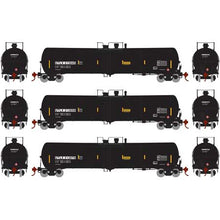 Load image into Gallery viewer, Athearn HO 28270 Black UTLX 30,000 30k Gallon Ethanol Tank Car Set #3 (3)