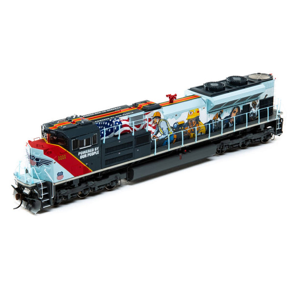 Athearn Genesis HO SD70ACe - DCC Ready UP #1111