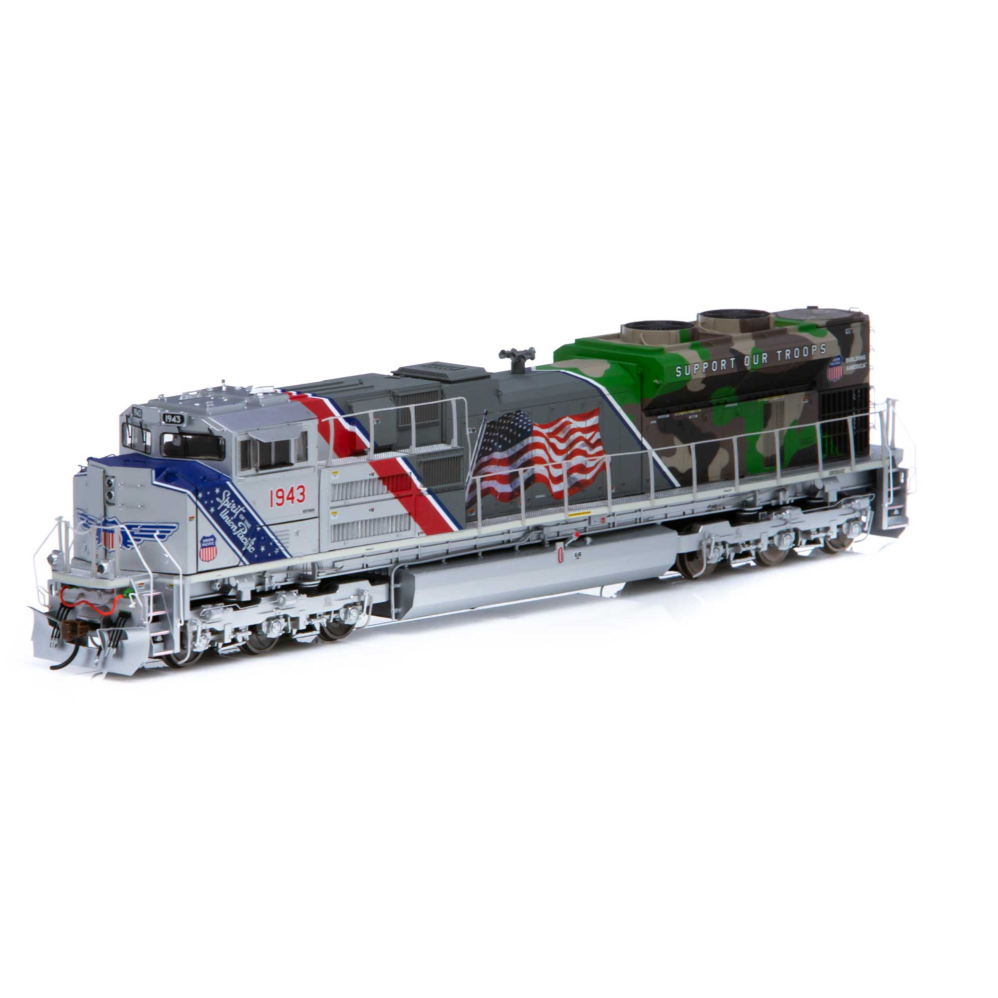 Athearn Genesis HO SD70ACe w/DCC & Sound, UP/Spirit of UP #1943