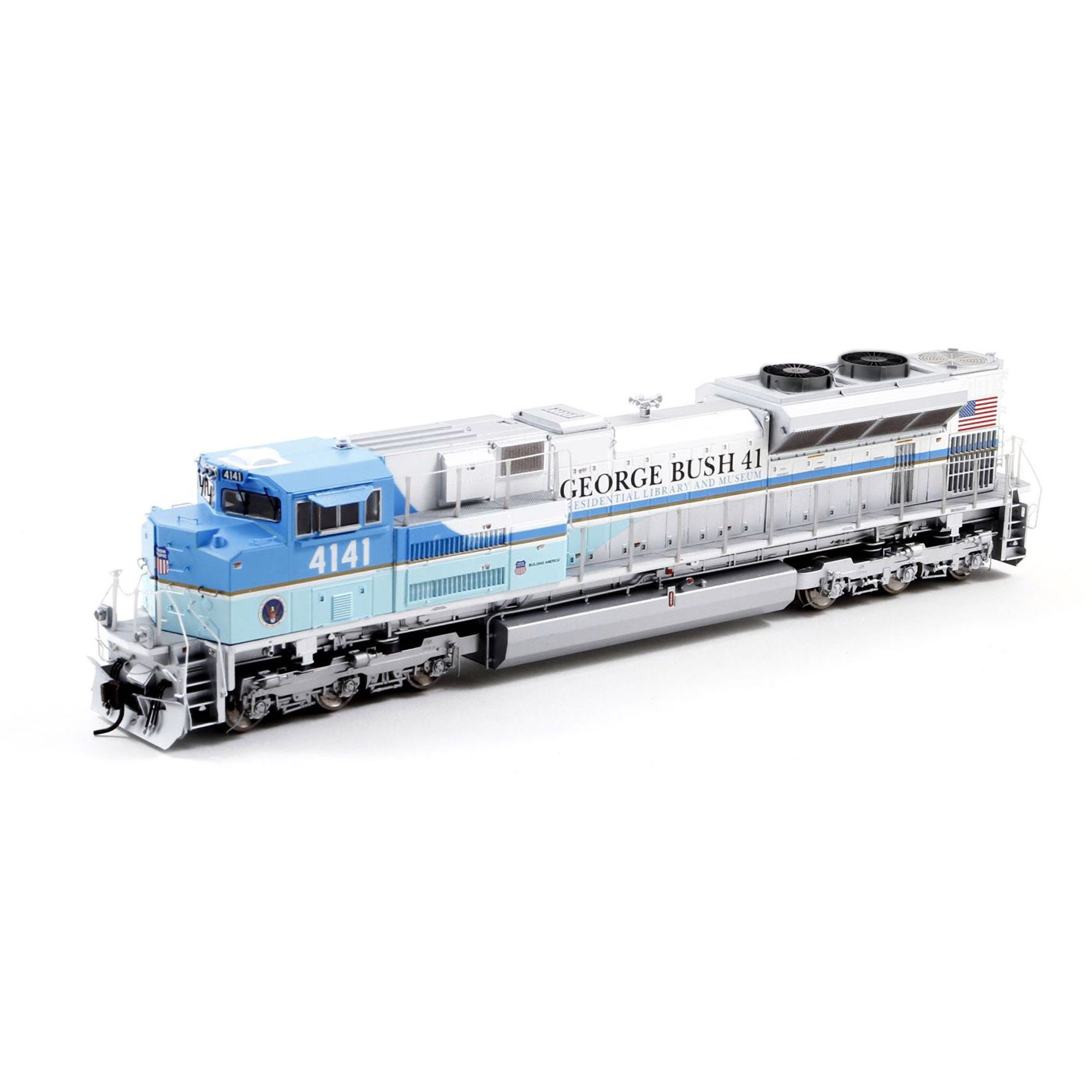 Athearn Genesis HO SD70ACe DCC Ready, UP/George HW Bush #4141