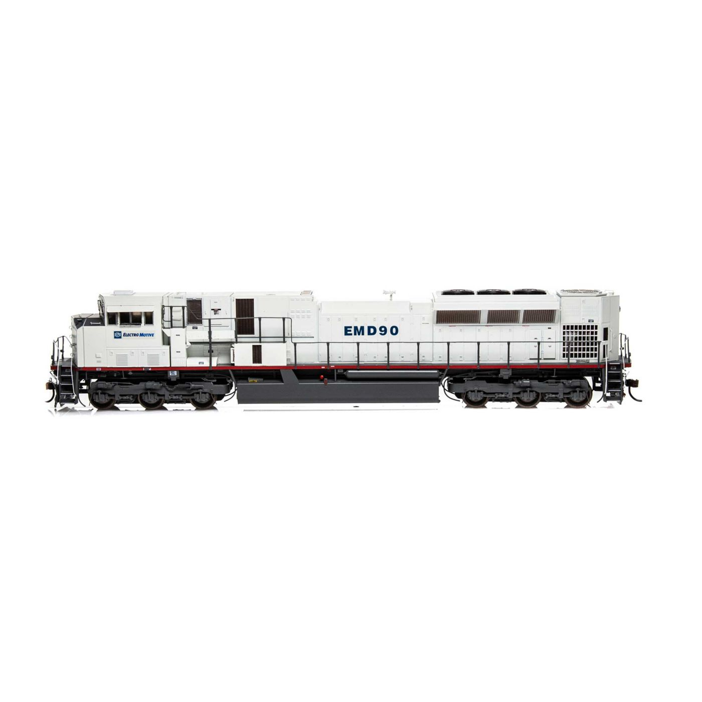 Athearn Genesis HO G2 SD90MAC-H Phase II with EMDX #90 - DCC READY