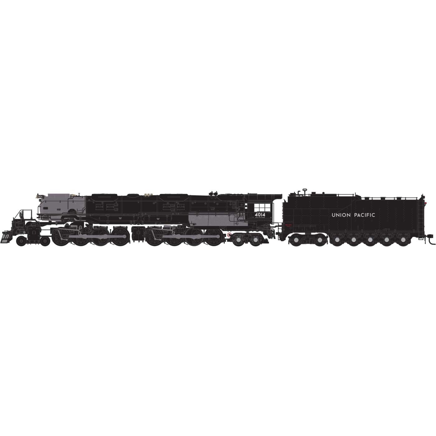 Athearn Genesis HO 4-8-8-4 Big Boy UP Promontory, #4014 DCC/Sound