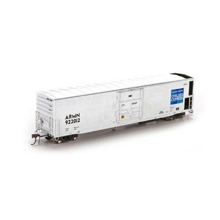 Athearn Genesis HO 57' Mechanical Reefer Blk Comp w/Sound UP/ARMIN #922012
