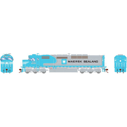 Athearn Genesis HO SDP40F with DCC & Sound BNSF/MAERSK #6976