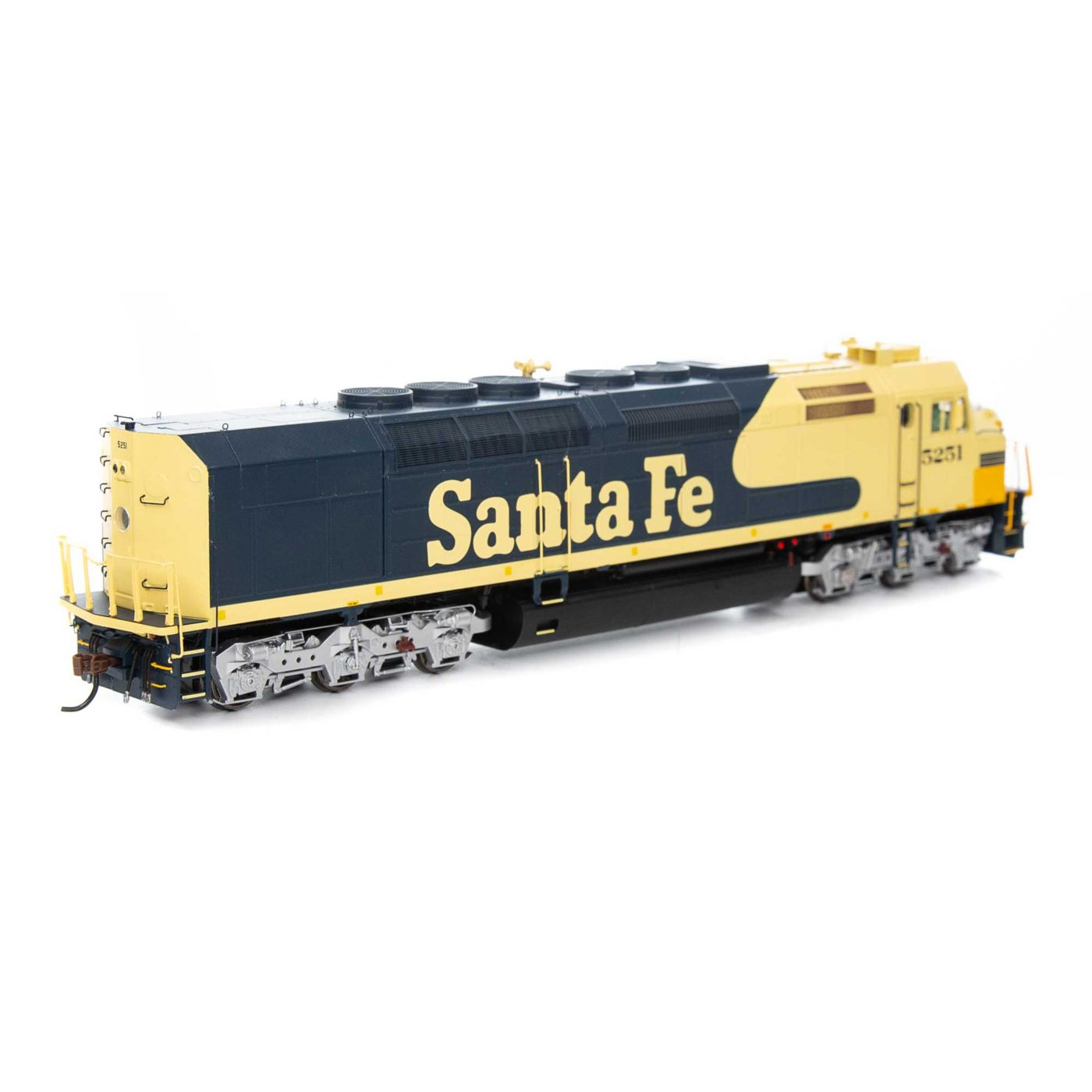 Athearn Genesis HO SDP40F with DCC & Sound ATSF #5251