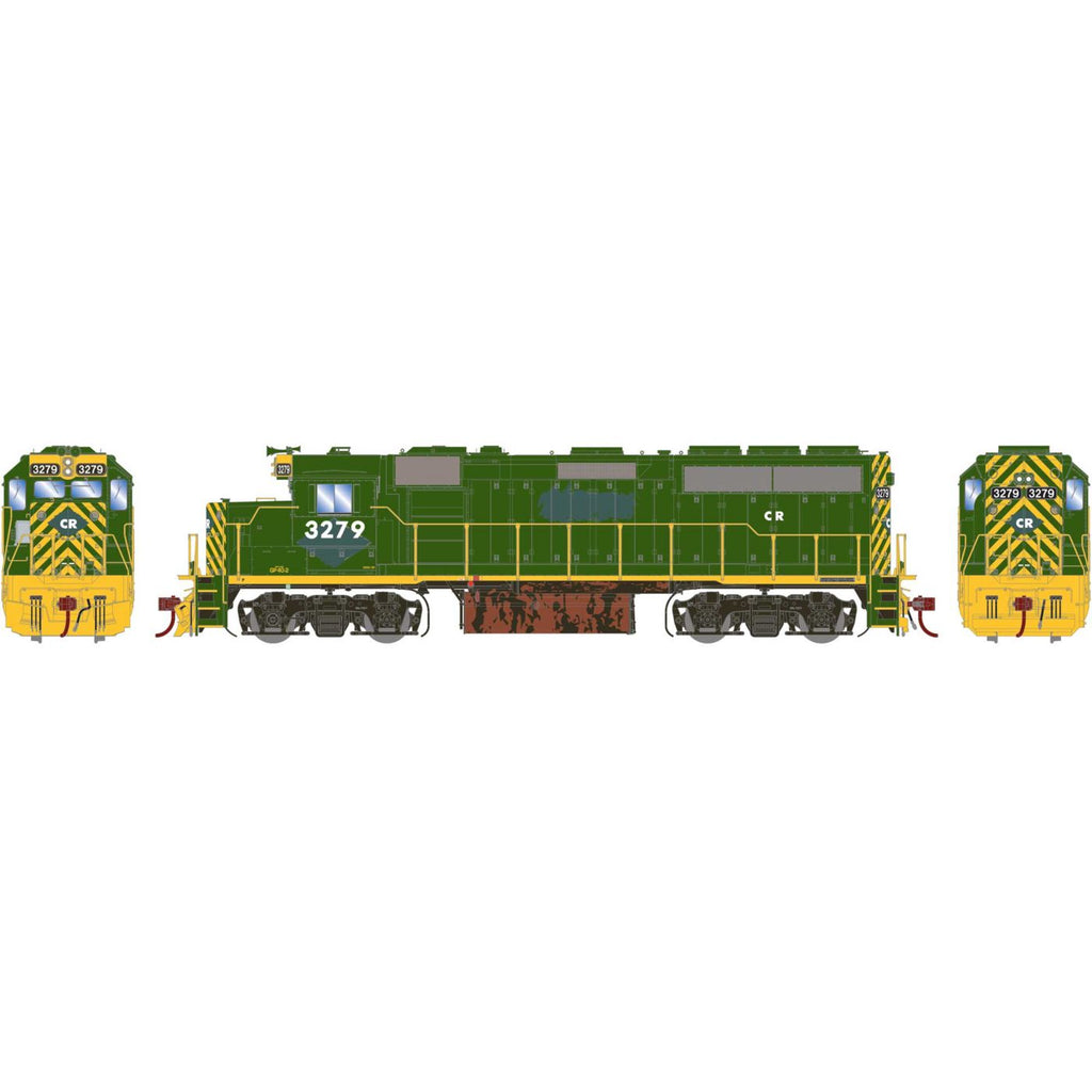 Athearn Genesis HO GP40-2 with DCC & Sound CR ex RDG #3279