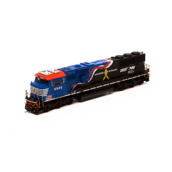 Athearn Genesis HO SD60E, Norfolk Southern DCC Ready NS/Honoring Our Veterans #6920